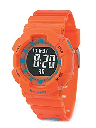 BY BASI A1014U04 - Reloj Unisex movi cuarzo correa policarbonato naranja/azul