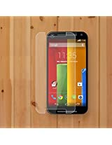 JAIFAON Premium Motorola Moto G G2 2nd Gen Generation XT1068 Tempered Glass Screen Protector (Clear)