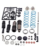 Kyosho 1/8 Inferno St Rr Evo.2 Truggy Rear Shocks & Springs Cap Body Shaft Boot