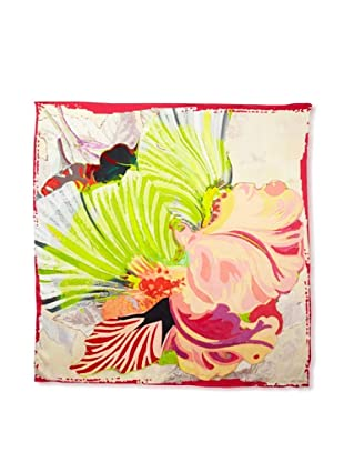 Ted Baker Women's Cedros Silk Scarf, Pale Pink, One Size