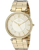 Oniss Paris Women's ON6021N-LGG Stupendo Collection Analog Display Swiss Quartz Gold Watch