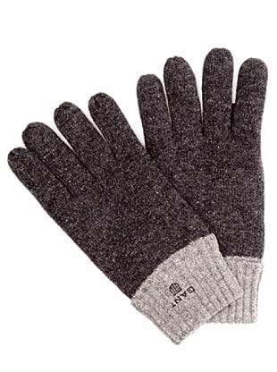 Gant Guantes Bicolor (gris)