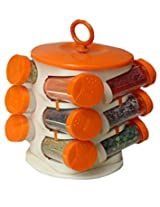 Spice Jars Multipurpose Spice Rack 12 In One ...