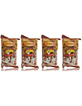 Badshah Coconut Lacha Cookies, 200g (Pack of 4)