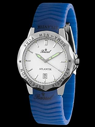 Bassel Reloj ATL2000 de Acero Azul