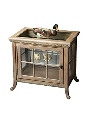 Butler Specialty Company Side Chair Curio, Driftwood