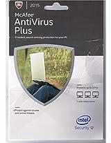 McAfee AntiVirus 2015 Plus - 3 PC