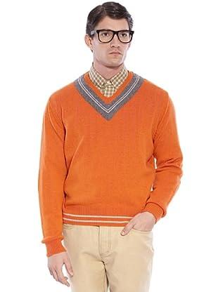 Hackett Jersey Clásico (naranja / gris)