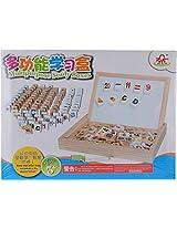 Wood Toys Unisex Kids' Multipurpose Study Boxes, Multi-Colour