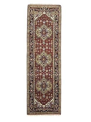 Darya Rugs Traditional Oriental Rug, Brown, 2' 6