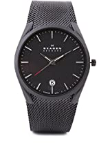Skagen Aktiv Analog Watch - For Men Black - SKW6009