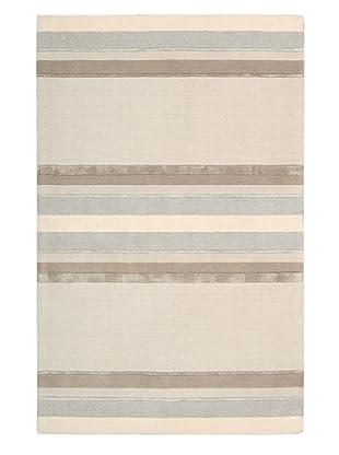 Calvin Klein Home Sahara Rug (Bone Stripe)