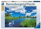 Beautiful Swan Jigsaw Puzzle, 500-Piece