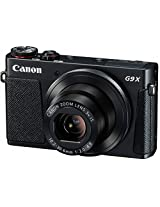 Canon Powershot G9 X Digital Camera | 20.2 MP , 3x Optical Zoom | Black Color