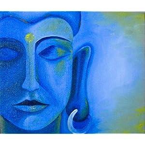 Art by Moi Serene Buddha Painting