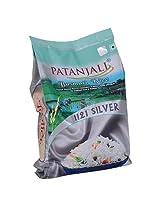 Patanjali Basmati Rice, Silver  5kg