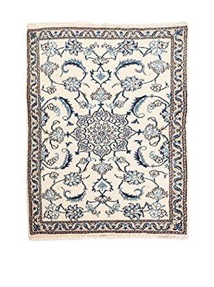 RugSense Alfombra Persian Nain Marfil/Azul 130 x 88 cm