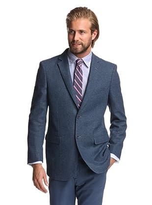 Renoir Men's Boucle Weave Sport Coat (Blue)