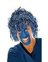 Amscan-Blue Tinsel Fun Wig.
