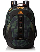 adidas Ridgemont Backpack Camo John/Zest/19 x 14 x 14-Inch AD