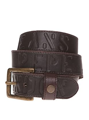 Pepe Jeans London Cinturón Singer Belt (Marrón)