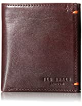 Ted Baker Men's Printed Small Bifold Card Holder