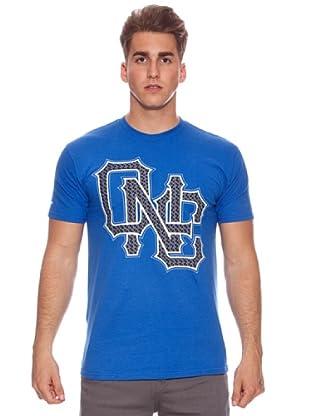 One Industries Camiseta Monogram (Azul)
