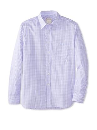 Billy Reid Men's Orleans Woven Shirt (Pink/Blue)