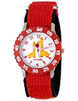 Red Balloon Kids W000183 Jungle Animals Stainless Steel Time Teacher Watch
