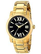 Lucien Piccard Men's LP-10026-YG-11 Bordeaux Analog Display Japanese Quartz Gold Watch