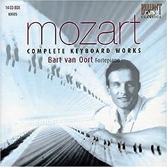 輸入盤ファン・オールト独奏:フォルテピアノによるモーツァルト鍵盤作品全集(14枚組)の商品写真