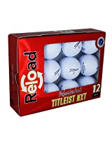 Reload Recycled Golf Balls Titleist NXT Tour Refurbished Golf Balls (12 Pack)