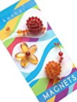 Kanhai Quirky Fridge Magnet (Set of 3, Snail Red)