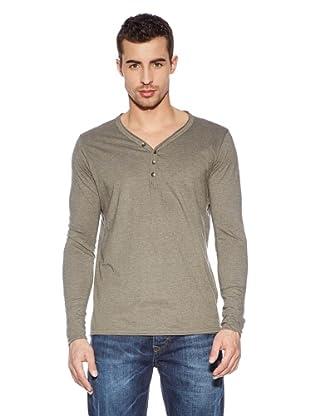 Cross Jeans Camiseta Casual (Caqui)