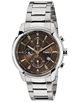 Timex E Class Analog Brown Dial Men's Watch - TW000Y503