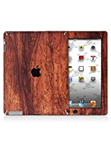 XGear EXO Skin Protective Vinyl for iPad 2/3 (Wood Grain Bubinga)