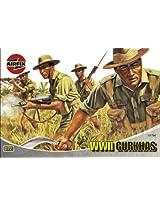Airfix A01754 1:72 Scale Gurkhas Figures Classic Kit Series 1