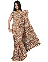 Kothari Saree (KT0108 _Brown)