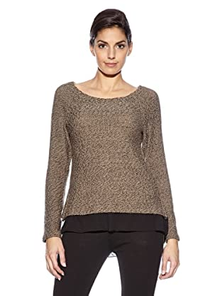 Love U Pullover Lory (Taupe)