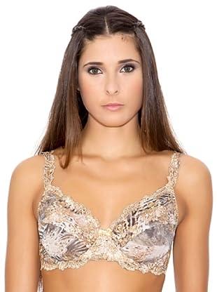 Millesia Lingerie Sujetador Classico Nuevo Diamante (Leopardo)