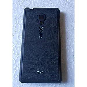 NBD XGOQ BACK CASE COVER FOR PANASONIC T 40 BLACK
