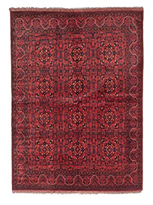 eCarpet Gallery One-of-a-Kind Hand-Knotted Khal Mohammadi Rug, Red, 5' 11