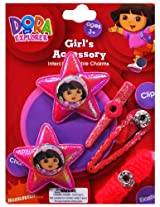 Disney Dora On 2 Fuschia Glitter Stars