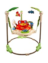 Rainforest Jumperoo With Music and Light Walker Activity Seat