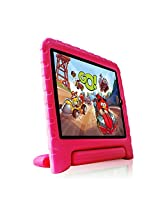 Fintie Kiddie Case Light Weight Shock Proof Convertible Handle Stand Cover for iPad Air 2, Magenta (EPF0009AD-US)