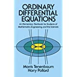 Ordinary Differential Equations (Dover Books on Mathematics)Morris Tenenbaum�ɂ��