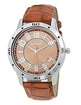 Dezine DZ-GR303-BRW-BRW analog watch