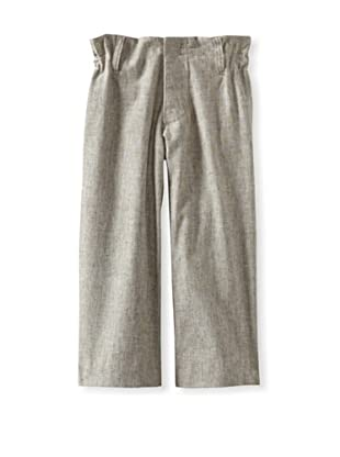 Blu Pony Vintage Boy's Timeless Classic Straight Leg Pants (Washed Hay)