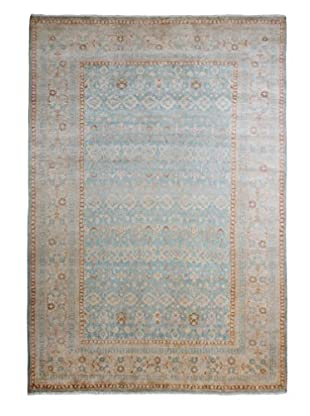 Darya Rugs Mogul Oriental Rug, Light Blue, 6' 2
