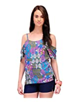 Yepme Women's Multicolor Polyester Tops YPMTOPS0692_XL